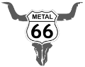 Metal on route 66